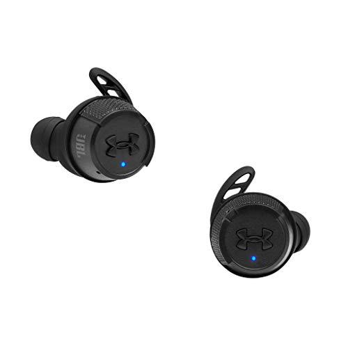 JBL Sport Flash X Auriculares intraaurales inalámbricos deportivos resistentes al agua y al sudor IPX7, cancelación de ruido pasiva, hasta 50 horas de reproducción, negro