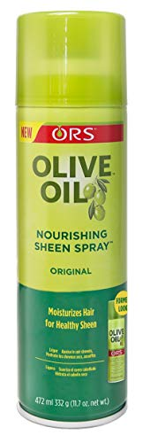 Ors Olive Oil Sheen Nourishing Spray Original 11.7 Ounce (346ml) (2 Pack)