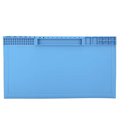 Almohadilla de reparación de silicona de aislamiento, almohadillas de aislamiento de gel de sílice antideslizantes, almohadilla de trabajo de aislamiento térmico de almohadilla de reparación de silico