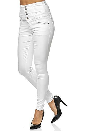 Elara Pantaloni Donna Elasticizzati Skinny Jegging Chunkyrayan