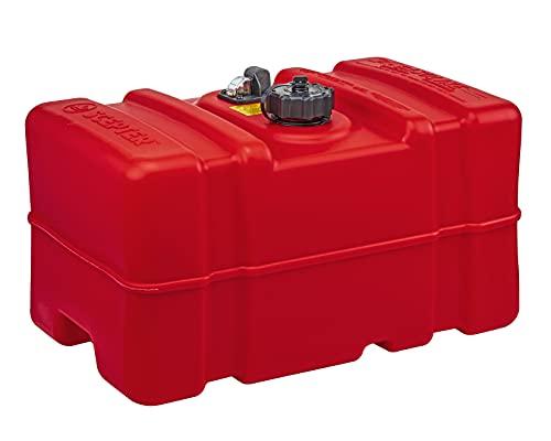 Scepter 12 Gallon Marine Fuel Tank 08668, Red