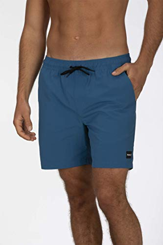 Hurley M Dry-Fit Convoy Volley 17' Bermudas, Hombre, Gym Blue