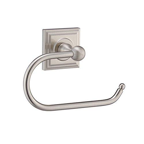 Designers Impressions Aurora Serie Toilettenpapierhalter aus Satin-Nickel