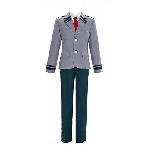 XCJLW Boku no Hero Academia My Hero Academia Izuku Blazer Costume School Uniform Full Suit (Medium)