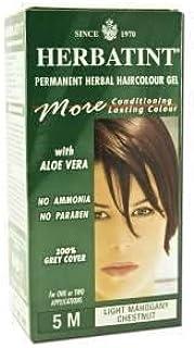 HERBATINT NATURAL HAIR COLOR Herbatint Permanent Light Mahogany Chestnut (5M) 4 OZ
