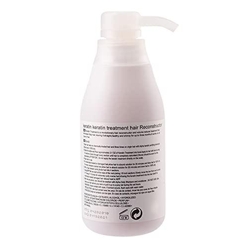 Hair Keratin, PURC Tratamiento De Queratina Para El Cabello Dañado Acondicionador Para El Cabello Para Uso En El Salón Para El Hogar