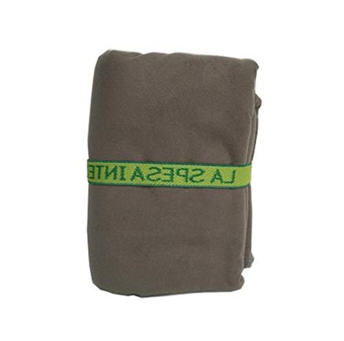 Huien Quick Microfiber handdoek met verband drogen Reizen Sport Zwemmen Gym Yoga Volwassenen Deken Wraps Bad Kerst, bruin, 75cm135cm