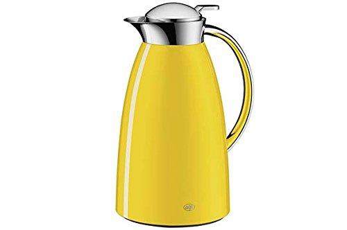 Alfi Gusto Metall 3521200100 Isolierkanne 1 Stück (1 Liter, 17 x 15 x 27.5 cm) sun gelb