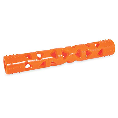 Chuckit! Breathe Right Stick Dog Toy, Large (Orange)
