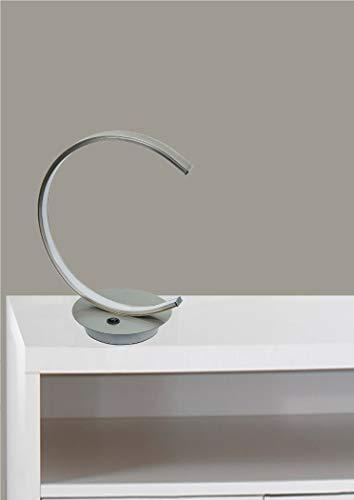 Trango Modern Design LED tafellamp, lichtstrip in halfrond TG2019-01