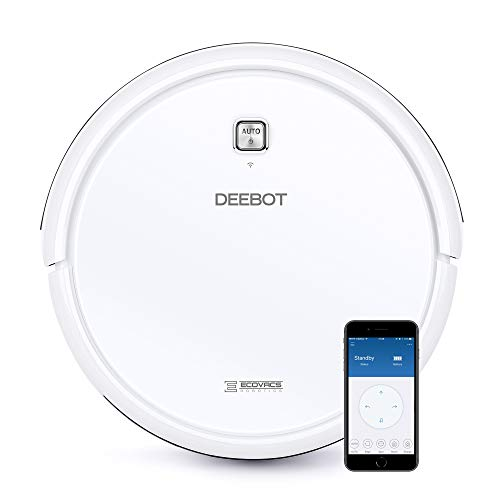 DEEBOT N79W+ Robotic Vacuum Cleaner with Max Power Suction,+ 2 Year Warranty, Upto 110 Min Runtime, Hard Floors & Carpets, Works with Alexa, App Controls, Self-Charging, Quiet