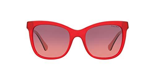 Ralph Lauren RALPH BY 0RA5256 Gafas de sol, Transparente Red, 53 para Mujer