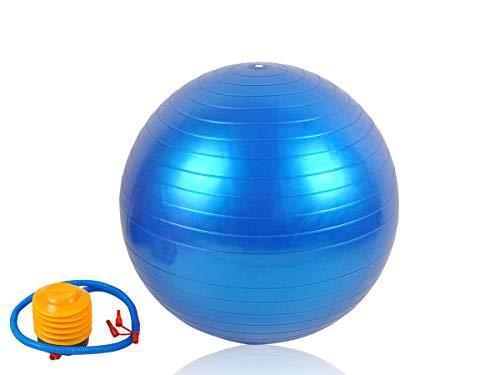 Maxy Gymnastikball 55-75cm mit Pumpe Fitnessball Trainingsball Sport Sitzball #248, Größe:65 cm