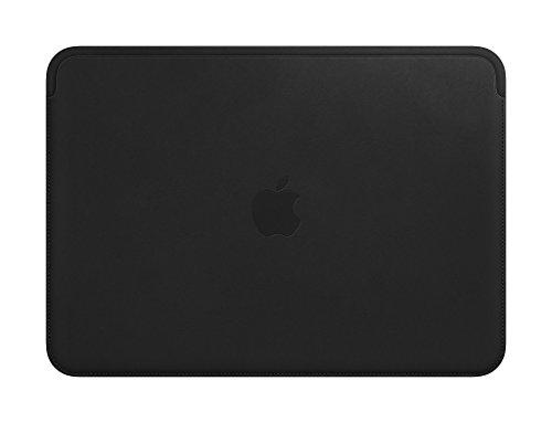 Apple Leren Sleeve (12-inch MacBook) - Zwart