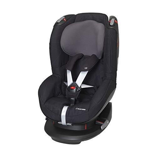 Maxi-Cosi Tobi Kleinkinder-Autositz, Installation mit Sicherheitsgurt, 9 Monate - 4 Jahre, 9 - 18 kg, Black Diamond (schwarz)