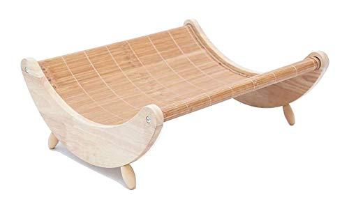 CVXCVCBCG Schommelstoel voor kat- en hondenbed, voor kleine huisdieren, met milieuvriendelijk materiaal