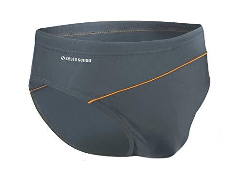 Sesto Senso® Pantaloncini da Bagno Uomo (Dimensioni da M a 4XL) Costume Boxer Calzoncini Swim Shorts BD 413 (3XL, Grafite)