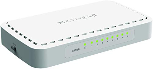 Netgear GS608-400PES 8 Port Gigabit Ethernet Unmanaged Switch