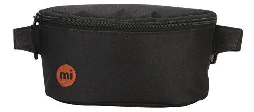 Mi-Pac Slim Bum Bag Riñonera de Marcha, 22 cm, 2 litros, Classic Black