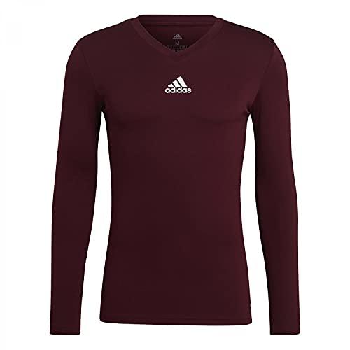 adidas Mens Jersey (Long Sleeve) Team Base Tee, Tmmaro, GN7503, L EU