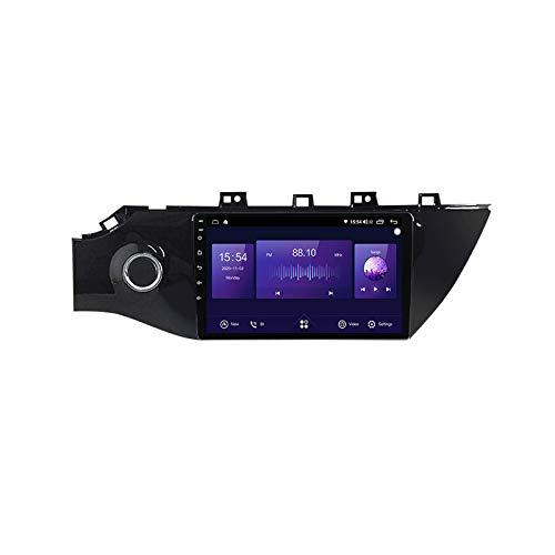 ADMLZQQ Radio de Coche estéreo Android 9 Pulgadas para KIA Rio 2016-2019 navegación GPS IPS Pantalla táctil WiFi Bluetooth FM Am RDS HiFi Receptor Carplay Mirror Link Espejo Pantalla,7862,4+64G