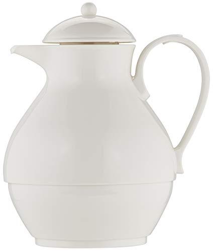 Helios Nostalgie Kunststoff-Isolierkanne, weiß, 1 Liter