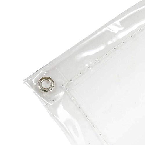 Planenblatt Regenfest Wasserdicht Ungiftig Leicht Zu Schneiden Starke & Massive Plane Für Bodendecker, Transparent, Stärke 0,3 mm FENGMING (Farbe : Klar, größe : 1.1x1.4m)