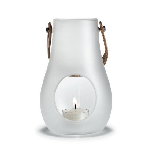 Design With Light Laterne weiss, Höhe 16cm by Holmegaard Design