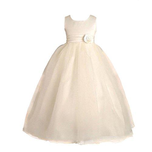 Lito Angels Meisjes Enkel Lengte Bruidsmeisje Bloem Meisjes Jurken Communie Gelegenheid Jurk