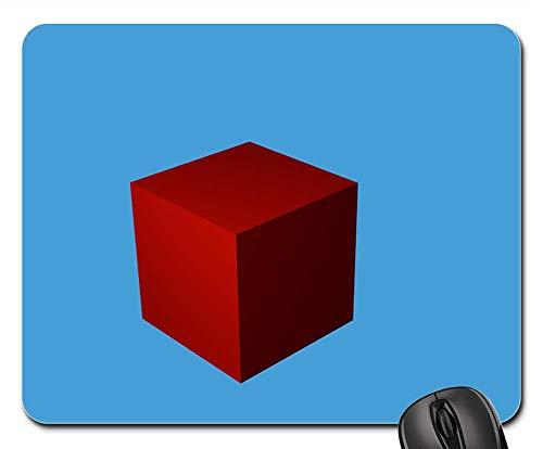 Mouse Pad - Square 3D Shape Symbol Icon Sign Flat Model