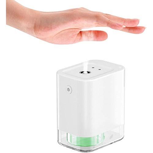 Dispensador Nebulizador Alcohol Automático con Sensor Touchless Desinfectante de Manos con Dispensador Automático de Alcohol Blanco