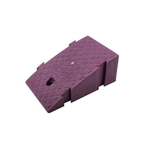 Almohadilla triangular para escalones, rampas de acera multifunción de plástico Estacionamiento Almohadilla para subir de coche Escaleras para el hogar Altura de la almohadilla de umbral: Ramp