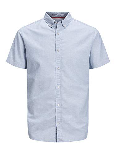 JACK & JONES Male Kurzarmhemd Button-Down LInfinity