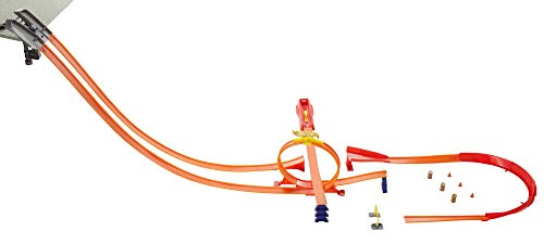 Oferta de Hot Wheels - Superpack construye tu pista, accesorios para pistas de coches (Mattel GWT46)