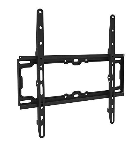 ELBE SP-3065-F - Soporte de pared fijo universal para TV 30''-65'' (capacidad 30 kg, vesa: 50x50, 75x75, 100x100, 200x200, 200x300, 300x300, 200x400, 300x400, 400x400) negro
