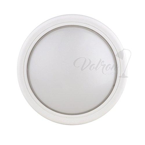 LED Lampe pour caves et pièces humides avec lampe Odense 10 W 750 lm 6500 K IP65 extérieur rond