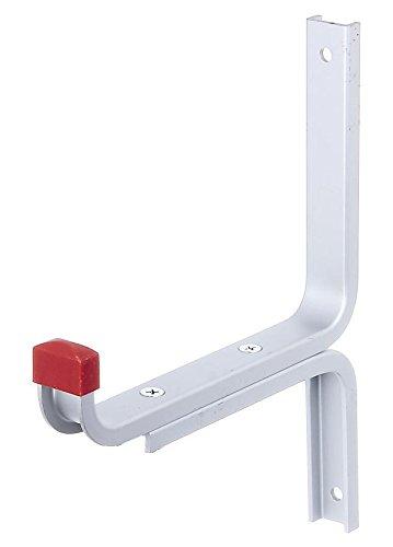 GAH-Alberts 805609 Wandhaken, abgewinkelt, Aluminium, 170 x 215 mm