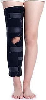 JINGQI Brace Rodilla articulada, Ajustable Soporte estabilizador de la rótula del cojín Ortesis férula, Médico Ortopédico Estabilizador