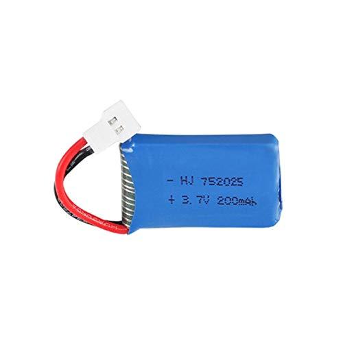 MeGgyc 752025 batería para X4 X11 X13 RC Drones 3.7V 200mah batería LiPo para X4 X11 X13 Gold