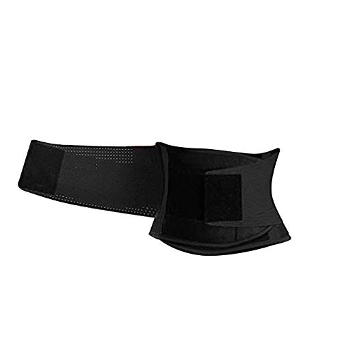 Faja Reductora para Hombre Trimmer de Cintura Neopreno Cinturón de Sudor Cinturón de Fitness para acelerar la pérdida de Peso Quema de Grasa Efecto Sauna Faja Reductora Adelgazante