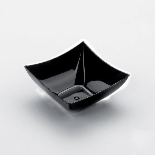 Générique 25 COUPELLES CARRÉES 90CC - Noir