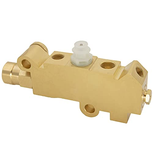 PV2 Combination Proportioning Valve,PV71 Disc Drum Disc Front Drum Rear Brass Brake Proportioning Valve,172-1353 Front Drum Rear Brake fit for Ford Chevy Classic Car Truck