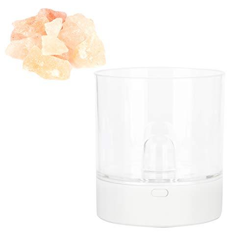 Lámpara de mesa Elegante lámpara de noche colorida Lámpara de sal sin parpadeo Sala de estar Decoración del hogar