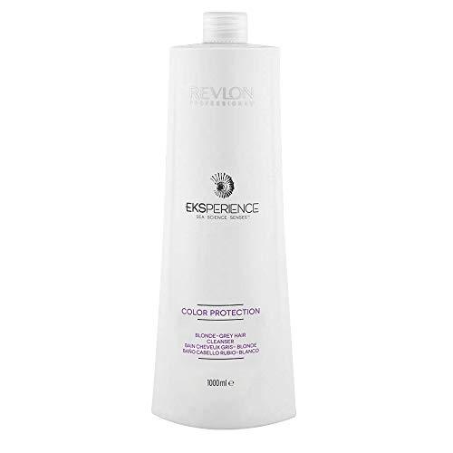 Eksperience Color Protection Blonde Grey Shampoo 1000ml - Para Cabello Rubio, Gris O Blanco