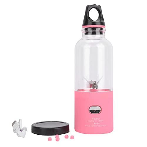 Juicer Standard Workmanship Exquisito diseño licuadora jugo que hace equipo para el hogar para la cocina (rosa)
