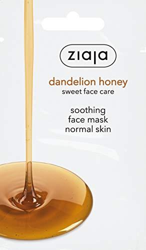 Ziaja Mascarilla Facial Miel De Diente De León Calmante Para Pieles Normales 7 ml