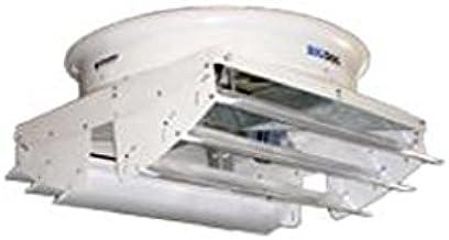 Schaefer Ventilation 573CF2G-1-HE Fiberglass Exhaust Fan with Cone 57 3 Wing Blade High Efficiency 2 hp