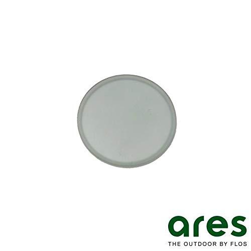 Ares Clio Einbaustrahler nur Ersatzglas für hohe Temperaturen