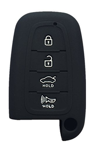 Price comparison product image Rpkey Silicone Keyless Entry Remote Control Key Fob Cover Case protector Replacement Fit For Hyundai Elantra GT Genesis Genesis Coupe Sonata Veloster Tucson Kia Optima Rio Forte Koup Soul Sportage