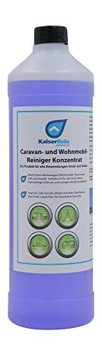 KaiserRein Camping-Reiniger 1L für Wohnwagen-Reiniger Wohnmobil- Boot- Zelt- Vorzelt-Reiniger Konzentrat für aussen und innen